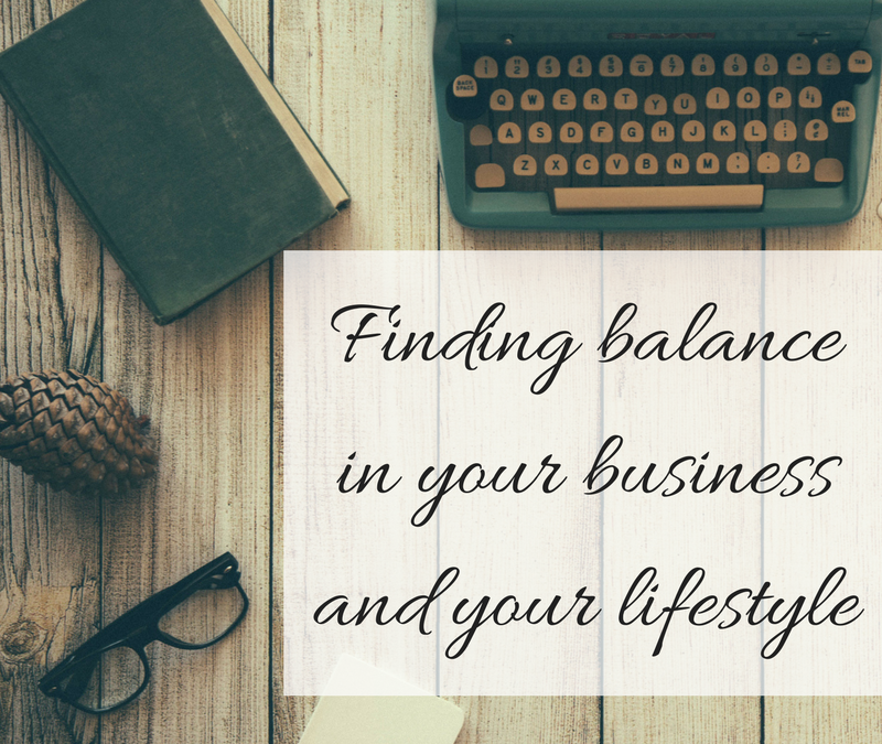 Marrying your lifestyle with your business